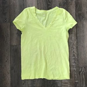 Large Yellow Merona T-shirt